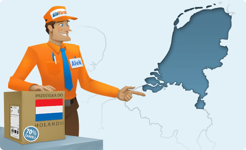 Najtańszy kurier do Holandii