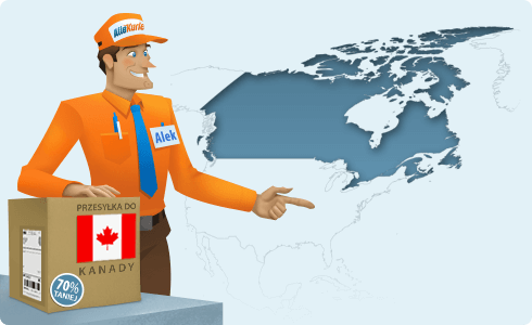 Najtańszy kurier do Kanady