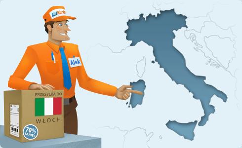 Najtańszy kurier do Włoch