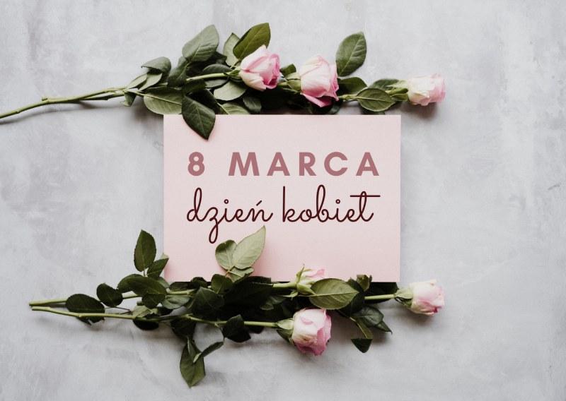 prezent na 8 marca Dzień Kobiet