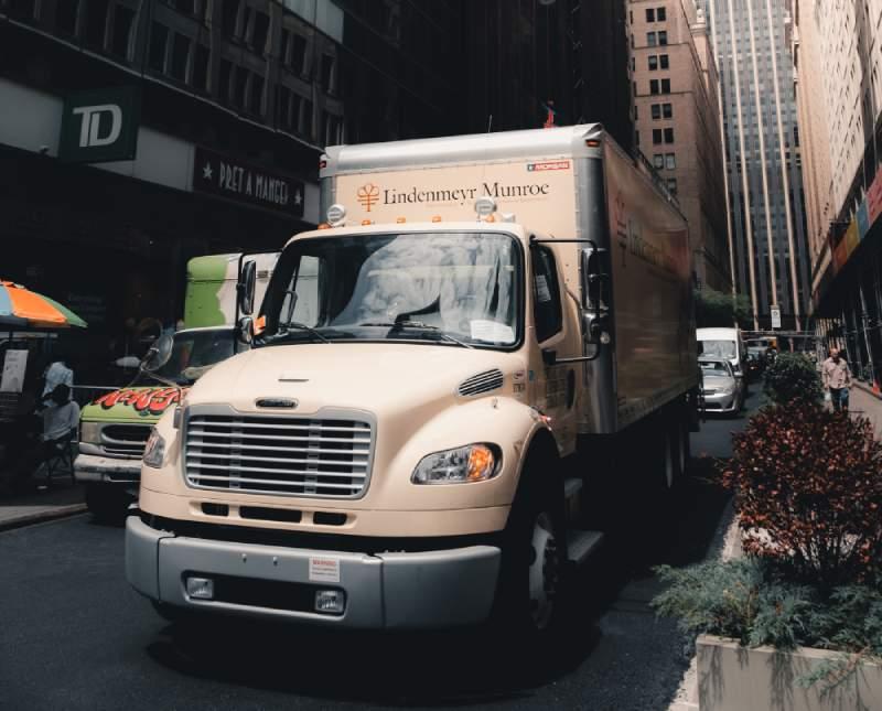 elektryczna ciężarówka