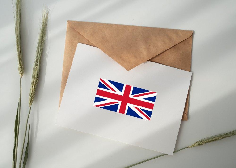 kody pocztowe - anglia