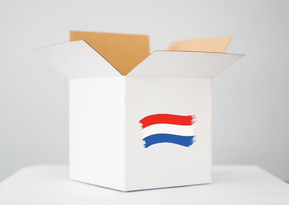 nadaj paczkę do Holandii