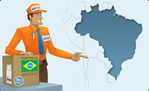 paczki do Brazylii