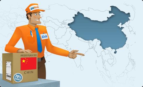 paczki do Chin