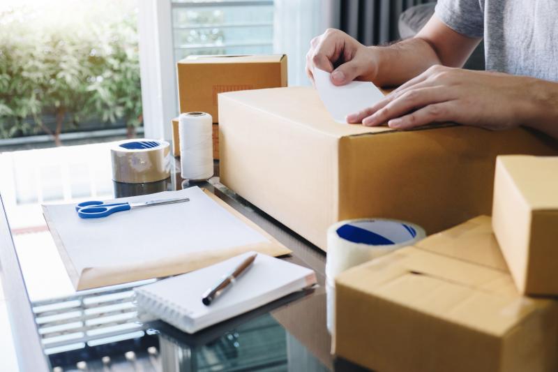 pakowanie przesyłki CMR