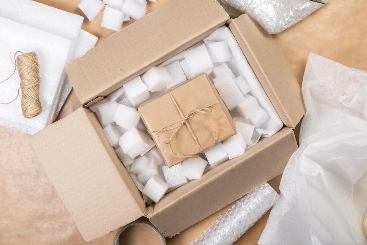 pomysły na świąteczne opakowanie przesyłki