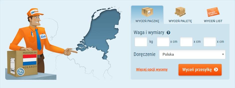 53531499c35485 Tania paczka kurierem do Holandii - już od 43,32 zł | AlleKurier.pl