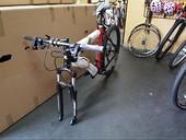 rower bez przedniego koła