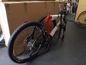 rower przygotowany do wysyłki